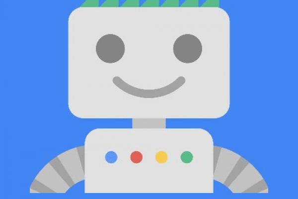 google webmasters robot logo